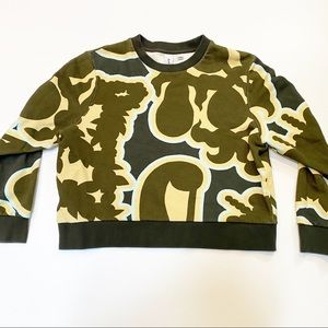 Carven Multi Abstract Sweatshirt